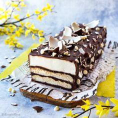 Kinder-halko | Reseptit | Kinuskikissa Marzipan, No Bake Cake, Tiramisu, Feta, Recipies, Cheesecake, Baking, Ethnic Recipes, Desserts