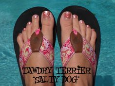 "@TawdryTerrier ""Salty Dog"" - 1 bottle available at https://www.etsy.com/shop/TawdryTerrier #nailpolish #indienailpolish #tawdryterrier"
