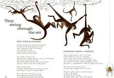 mid century monkey illustration - Google Search