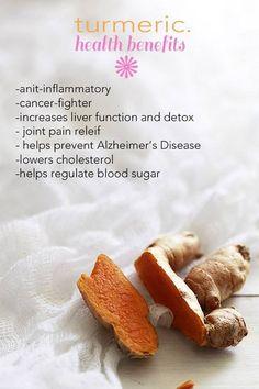 Turmeric's health benefits