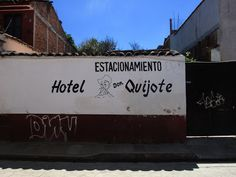 Only in fields: Hand painted signs in Oaxaca, Mexico.