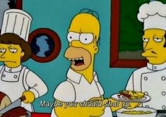 24 Times Homer Simpson Was Right - The Simpsons, television, cartoons Simpsons Funny, Simpsons Quotes, The Simpsons, Cartoon Quotes, Homer Quotes, Homer Simpson Quotes, Cartoon Images, Futurama, Gym Memes
