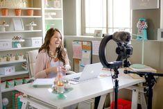 Video equipment for blogging or vlogging