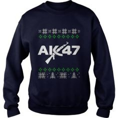 AK 47 UGLY CHRISTMAS SWEATERS