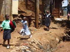 """""""Kibera, Africa's most iconic slum"""""""