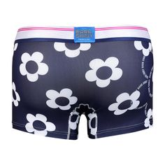Men's Boxer Pants-Blossom, backprint メンズファッション アンダーウェア ボクサーパンツ #darkshiny #mensfashion #boxerbrief