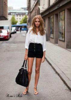 High-waist pants