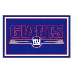 New York Giants Rug 4x6