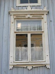 Lovely window in Rauma, Finland Windows 1, Old Town, Around The Worlds, Exterior, Dreams, Architecture, World, Finland, Windows