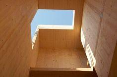 cross laminated timber panels Timber Architecture, Contemporary Architecture, Architecture Details, Cabana, Interior Design And Construction, Ecology Design, Timber Panelling, Timber Structure, Timber House
