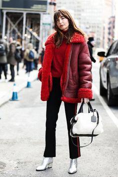 Street looks at New York Fashion Week New York Fashion Week 2018, Fashion 2017, Look Fashion, Street Fashion, Fashion Tips, Fashion Trends, Fashion Mode, Tokyo Fashion, Trendy Fashion