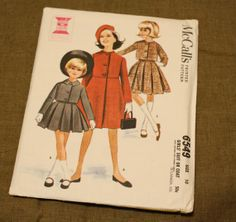 McCall's 6549 Vintage 1960s Suit or Coat by EleanorMeriwether, $8.00