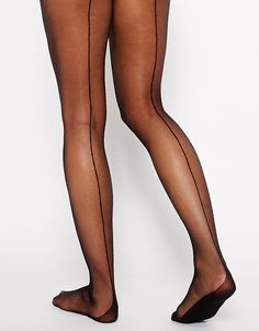 """Oooo La La"" that special someone with a pair of these black seam tights"