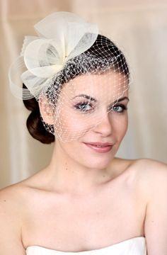 Chapeau mariage chapeau de mariée Couture. Chapeau de par klaxonek, $119.00