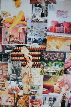 inspiration board by Papaya blog