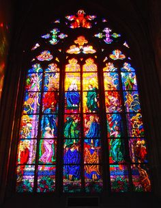 Cathedral, History, Prague, Stained Glass, travel, art, artists, history, St Vitus, Czech Republic, must-see, stained glass windows, window, glass art, amazing architecture, religion, religious art, story, colour, glass, wow, amazing art