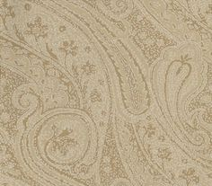 Oreste (311239) - Zoffany Wallpapers - An easy all-over paisley design with a distressed look. Shown in the gold colourway. Please request sample for true colour match. Paste the wall.