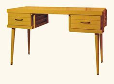 1950s desk