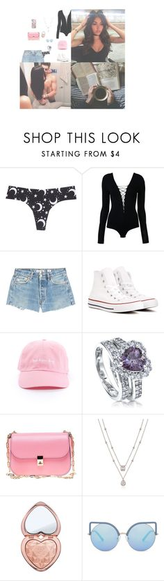 """""""Easter with my love {Chloe}"""" by boy-and-girl-anons ❤ liked on Polyvore featuring Wet Seal, T By Alexander Wang, RE/DONE, Converse, BERRICLE, Valentino, Too Faced Cosmetics, Matthew Williamson and Casetify"""