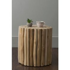 Shop for East At Main's Nason Brown Teakwood Stool. Get free shipping at Overstock.com - Your Online Furniture Outlet Store! Get 5% in rewards with Club O! - 20226417