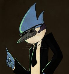 This Is A Picture Of Mordecai With SwagWallpaper And Background Photos Swag For Fans Regular Show Images