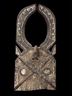 Loniake Mask from the Tusyan people in Burkina Faso