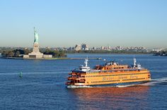 Staten Island Ferry ~ Everyone wants to see the Statue of Liberty. Ferry tours there start at $12. But the Staten Island Ferry for commuters, cutting across the New York Harbor, is absolutely free and has long held the distinction as the single greatest free attraction on the Eastern Seaboard. Around since 1905, the ferry carries 19 million across the harbor each year. Technically for transport in between Staten Island and Manhattan, most visitors simply hop back on to get back to New York.
