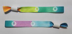 Pulseras de tela personalizadas. Varios colores. Precios de fábrica