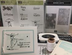You'll love the artistic feel of the Beautiful You stamp set--stamp a colourwash image over a silhouette for colour, or add your own colour with Watercolour Pencils or ink. Watercolor Pencils, Watercolour, Bokeh, Stampin Up, About Me Blog, Dots, Silhouette, Ink, Feelings