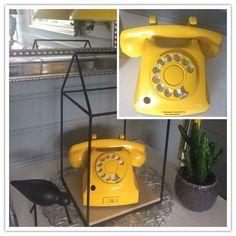 Lakket gammel tlf 🤩 Landline Phone