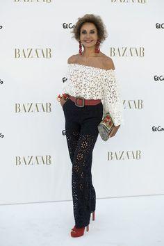 Nati Abascal   150 aniversario de Harpers Bazaar