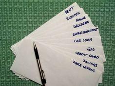 Money Envelope System for Effective Budgeting