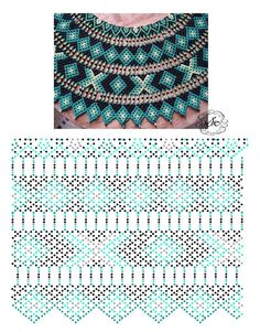 Дыхание Бисера's photos – 12,217 photos | VK Diy Necklace Patterns, Bead Loom Patterns, Beaded Jewelry Patterns, Beading Patterns, Bead Jewellery, Seed Bead Jewelry, Beads And Wire, Beading Tutorials, Loom Beading