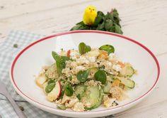 Frisse maaltijd met volkoren couscous