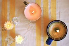 OH SO PRETTY the DIARIES: the ultimate diy candle guide