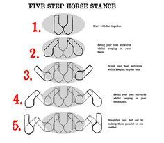 5 step horse stance