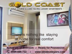 Luxury living homes on NH-24 It's time to raise the bar of what you expect from a home. It's time to realize that a home is not just four walls rather it constitutes the surroundings as well. It's time to experience life not in an isolated residential tower but of a sprawling township. Gold Coast promises the dawn of a new lifestyle. Of living in a well-ensconced township, where apartments are Golf Course facing and where round the clock view of serene lake greets you. www.skbdevelopers.com
