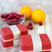 10-Minute DIY: Cranberry Orange Soap