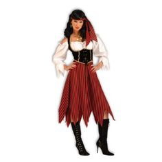 #Pirate Maiden Adult #Costume
