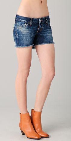 Dsquared2 jean shorts
