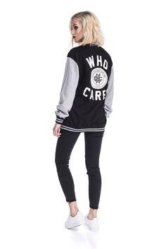 BASEBALL JACKET WHO CARES #baseball #jacket #new #collection #streetwear #polskistreetwear #whocaresclth