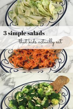 3 simple salads that