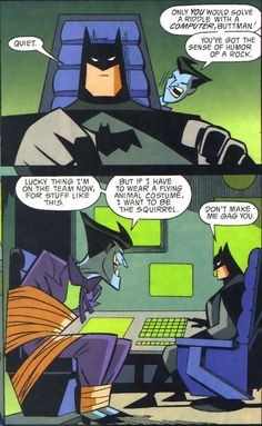 Batman and The Joker Batman Comics, Im Batman, Funny Batman, Nightwing, Batgirl, Batman Universe, Dc Universe, Batman Family, Gotham