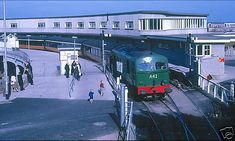 Gone Days, Dublin Airport, Buses And Trains, Model Train Layouts, Carlisle, Train Station, Model Trains, Old Photos, Ireland