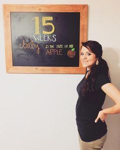 Baby Vuolo is growing! #15weeks #babybump #babyisthesizeofanapple #pregnantmama