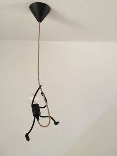 nice DIY Funny Stick Figure Hanging Light: great fir any kids room, industrial decor or someone with a sense of humor. Love the ide. funny DIY Funny Stick Figure Hanging Light: great fir any kids room, industrial decor or someon… Home Crafts, Diy Home Decor, Room Decor, Funny Stick Figures, Deco Luminaire, Diy Funny, Lampshades, Lampshade Ideas, Hanging Lights