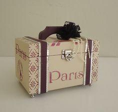 BAÚ LUXO PARIS | Arte DCasa - Presentes & Decorações | Elo7