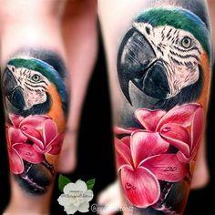 Kết quả hình ảnh cho parrot tattoo