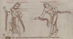1150 - Terence's Comedies, in Latin, with Romanesque drawings. 130r