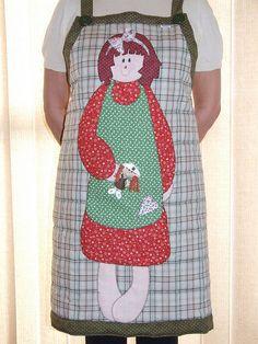 Meu novo avental para Patchwork!!! by Vera Patchwork, via Flickr